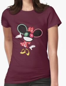 The Mouse is in da House V2 Womens Fitted T-Shirt