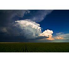 The Oklahoma Panhandle Photographic Print