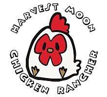 HARVEST MOON: CHICKEN RANCHER Photographic Print