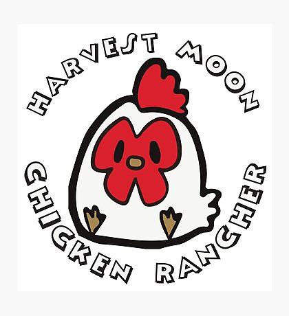 HARVEST MOON: CHICKEN RANCHER Photographic Print