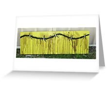 LIME WIRE Greeting Card
