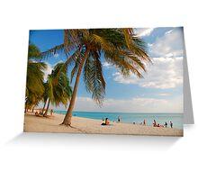 Playa Ancon Greeting Card