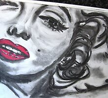 MARILYN MUNROE by Artbykris