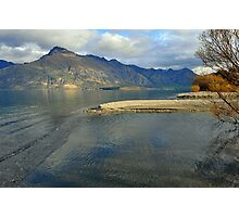 Return journey from Glenorchy to Queenstown. South Island, New Zealand. Photographic Print