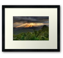You Raise Me Up - Capertee Valley,West Of Sydney  Australia - The HDR Experience Framed Print