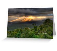 You Raise Me Up - Capertee Valley,West Of Sydney  Australia - The HDR Experience Greeting Card