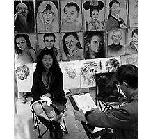 Sketch Artist... Photographic Print