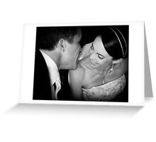The Wedding Day II Greeting Card