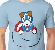 Pocket Captain Pup Unisex T-Shirt