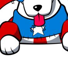 Pocket Captain Pup Sticker