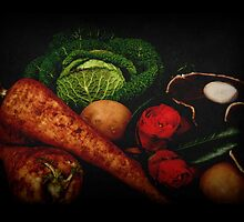 Still Life of Vegetables by Rod Gonzalez