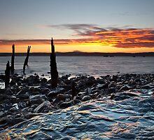 Holy Island Sunset by Doug Dawson
