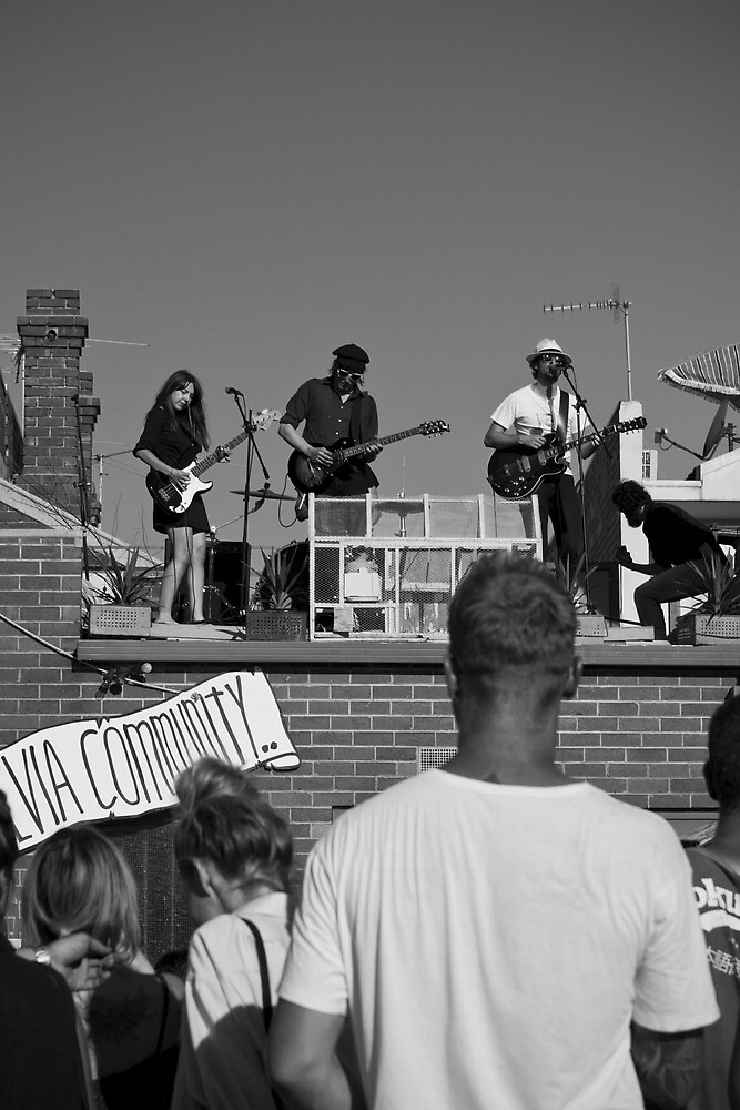 The Rooftop Band by Jay  Little