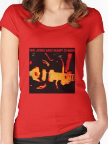 The Jesus And Mary Chain Darklands Women's Fitted Scoop T-Shirt