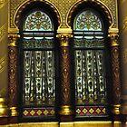 Gothic Window by Karen E Camilleri
