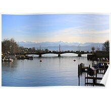 Zürichsee Poster