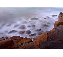 The Misty Cliffs - Crowdy Head - 5am. Photographic Print