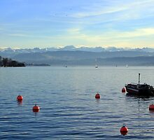 Zürichsee by Kajia