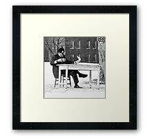 Tea and the Paper 29 Framed Print