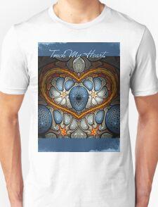 Touch My Heart - Blue T-Shirt