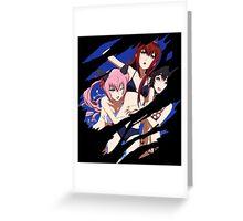 steins gate mayuri makise kurisu faris anime manga shirt Greeting Card
