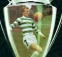 Celtic European cup winners.  Sticker