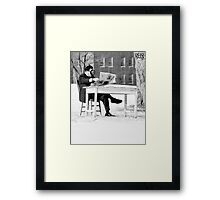 Tea and Paper # 36  Framed Print