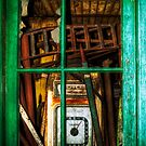 Behind The Green Door by ajgosling