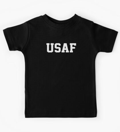 USAF Air Force Physical Training US Military Kids Tee