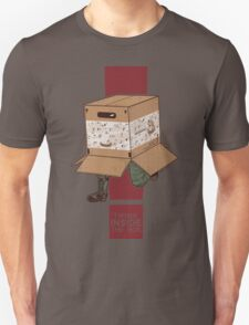 Think INSIDE the box. Unisex T-Shirt