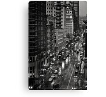 Acquainted With the Night Canvas Print