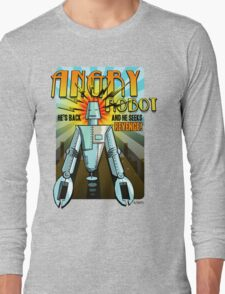 Angry Robot t-shirt Long Sleeve T-Shirt