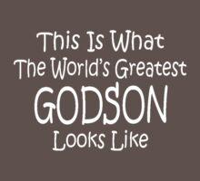Worlds Greatest GODSON Birthday Christmas Gift Kids Clothes