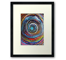 time tunnel Framed Print