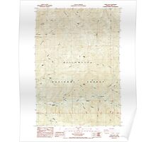 USGS Topo Map Oregon Upper Soda 281943 1985 24000 Poster