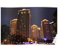 Apartemen Pavilion (by night) Poster