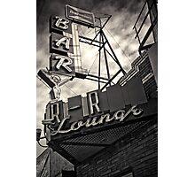The R-R Lounge-split toned Photographic Print