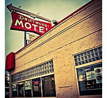 Driftwood Motel & Diner  Photographic Print
