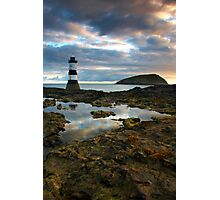 Lighthouse Reflections Photographic Print