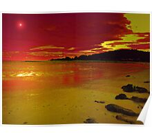 HOT SUNSET Poster