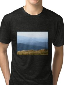 Misty Mountains - Victoria's High Country Tri-blend T-Shirt