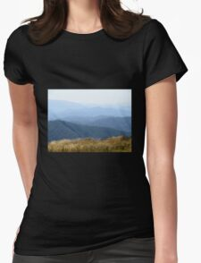 Misty Mountains - Victoria's High Country Womens Fitted T-Shirt