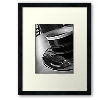 Espresso Time Framed Print