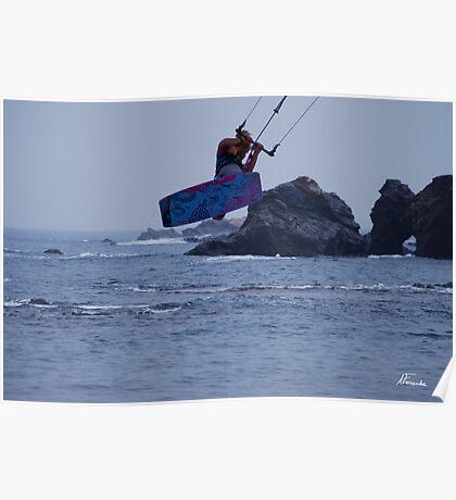 Kiteboard Poster
