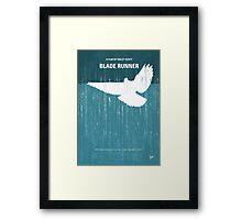 No011 My Blade Runner minimal movie poster Framed Print