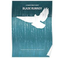 No011 My Blade Runner minimal movie poster Poster