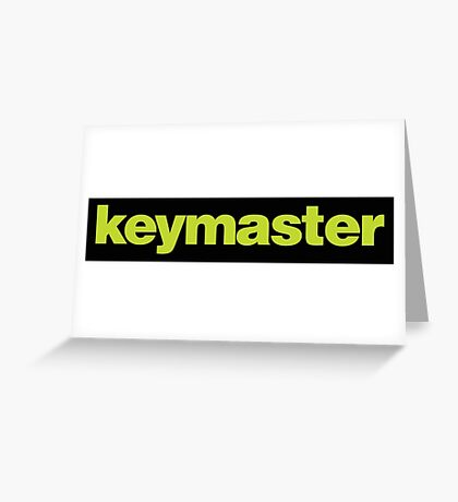 Ghostbusters - Keymaster Greeting Card
