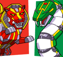 House Zords Sticker