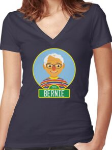 2016 Bernie Street Women's Fitted V-Neck T-Shirt