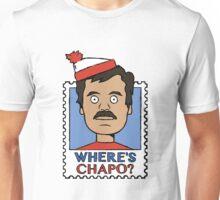 Where's Chapo - Stamp Unisex T-Shirt